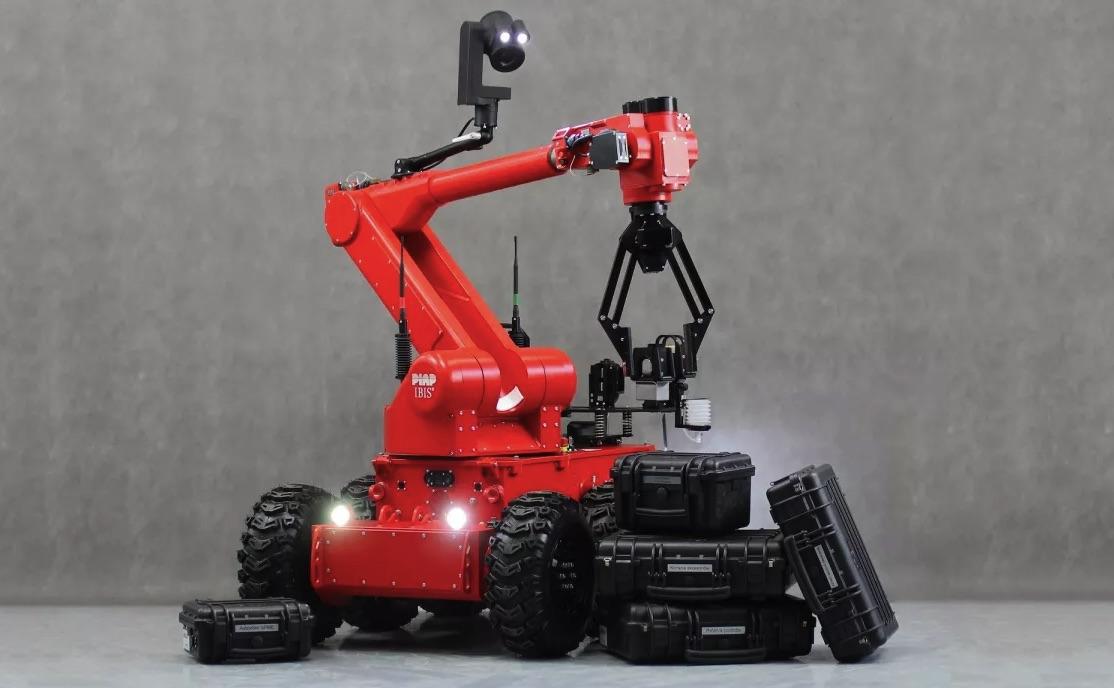 Roboty IBIS w Straży Pożarnej