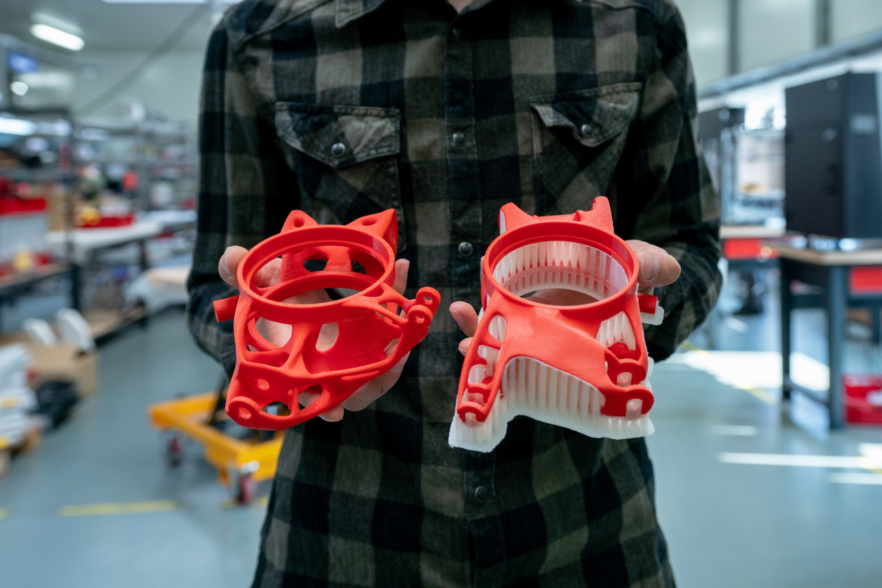Druk 3D zwiększa efektywność produkcji