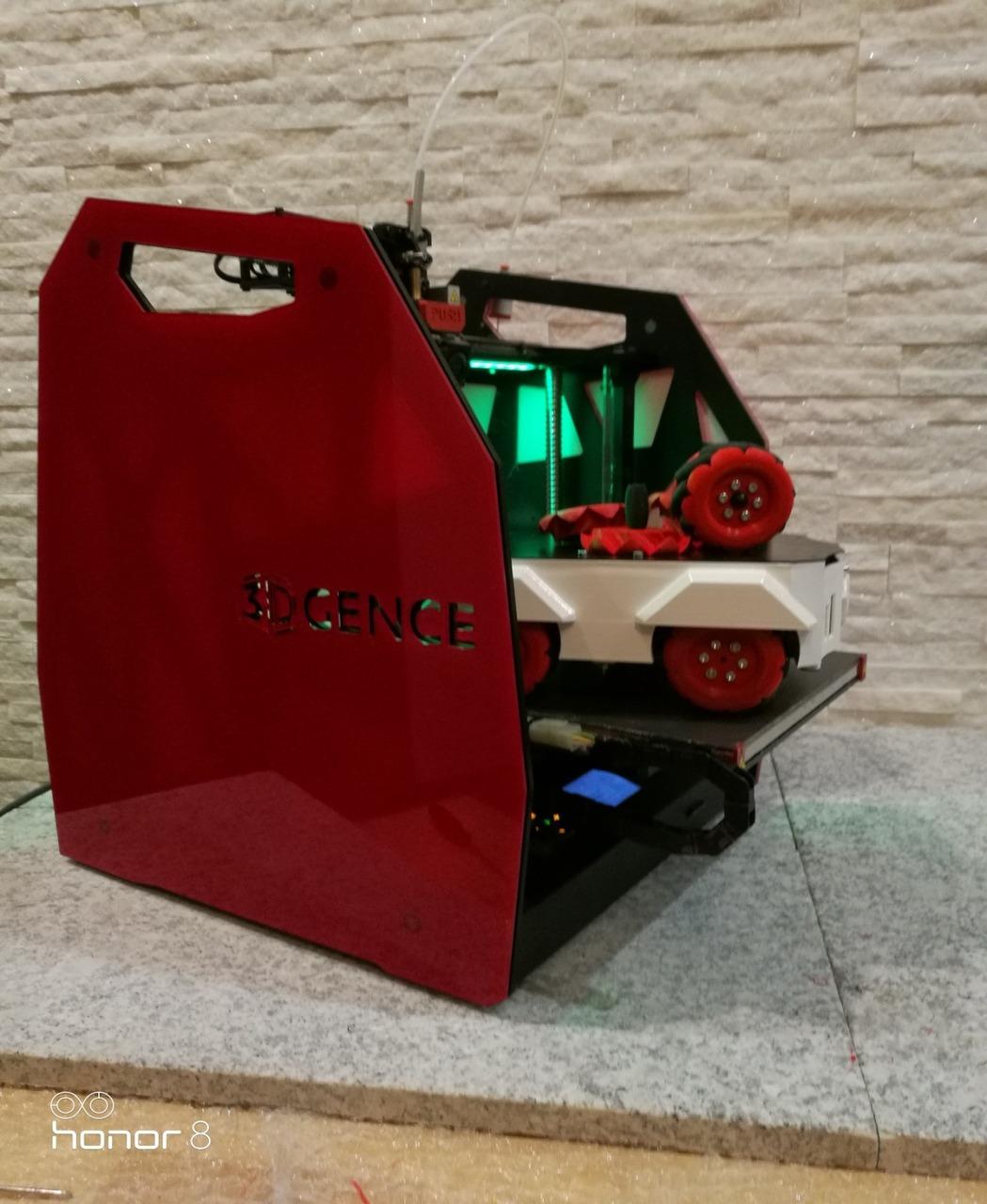 druk 3D a koła mecanum