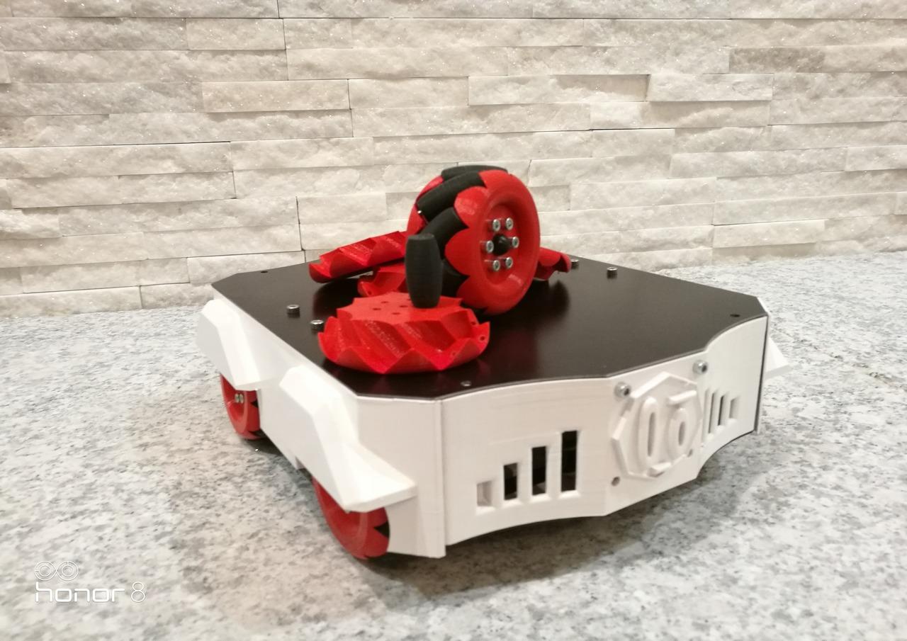 Szybkie prototypowanie – druk 3D a koła mecanum