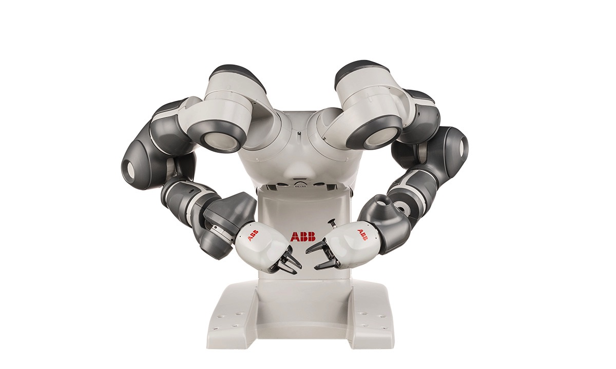 Robot współpracujący ABB YuMi