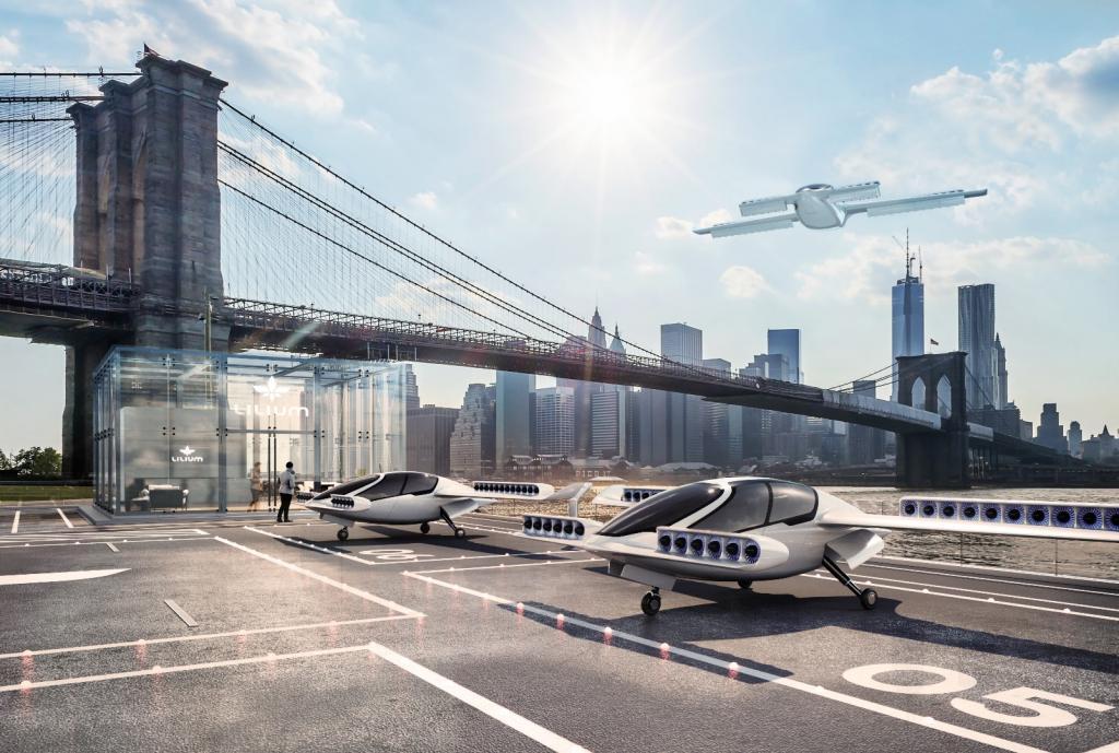 Latające taksówki z ERP w chmurze
