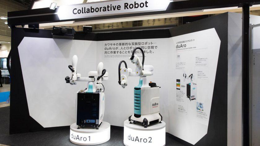 Robot współpracujący Kawasaki duAro