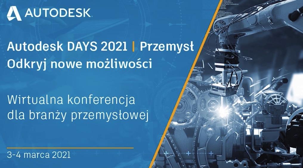 Konferencja online AUTODESK DAYS 2021