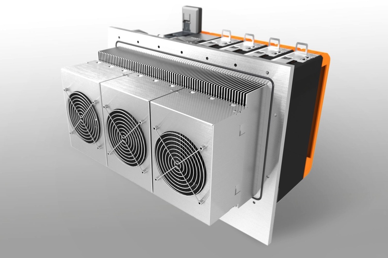 koncepcja chłodzenia ACOPOS P3 od B&R