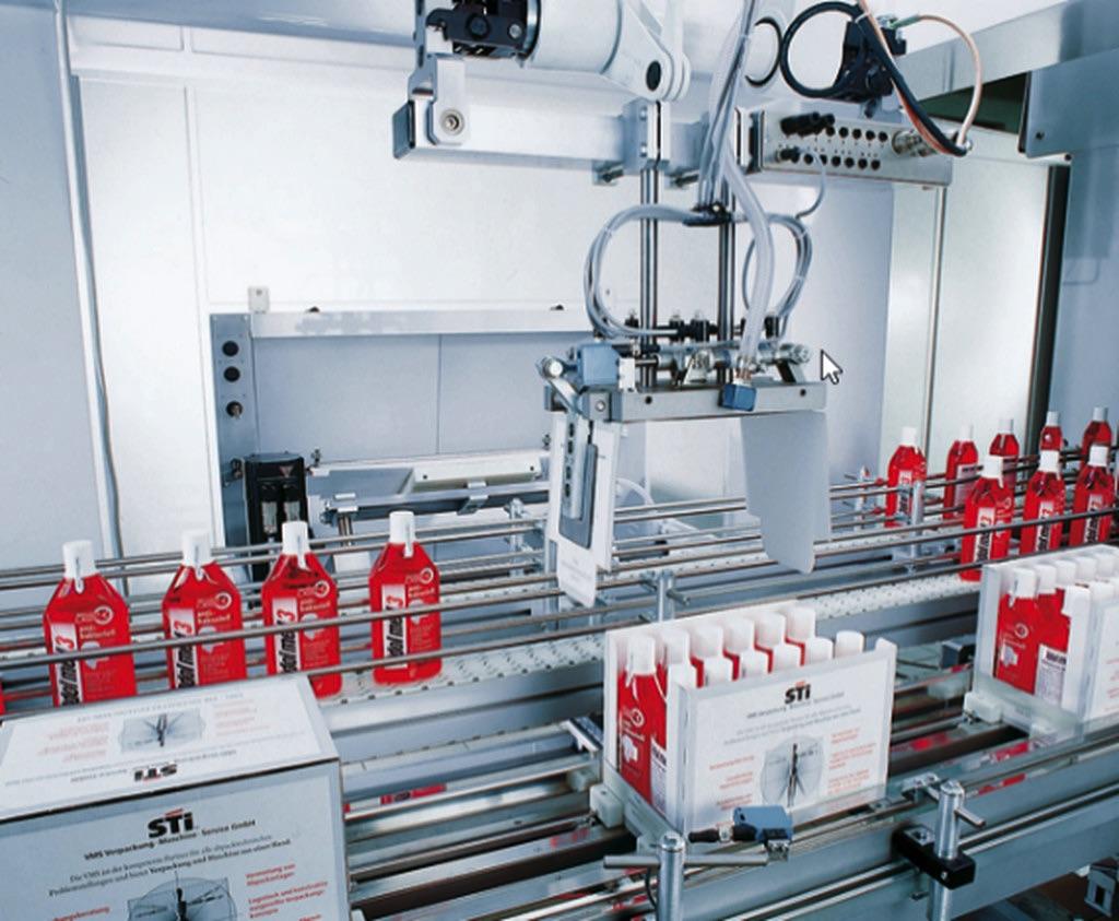 Technologia montażu dla rozwiązań FMCG Bosch Rexroth