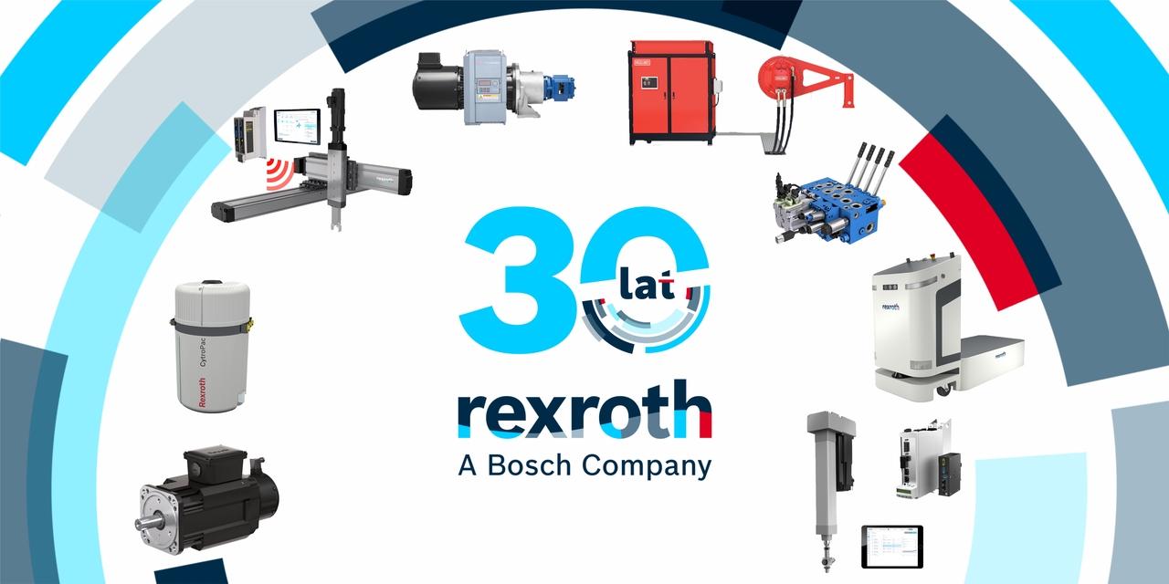 Bosch Rexroth 30 lat w Polsce