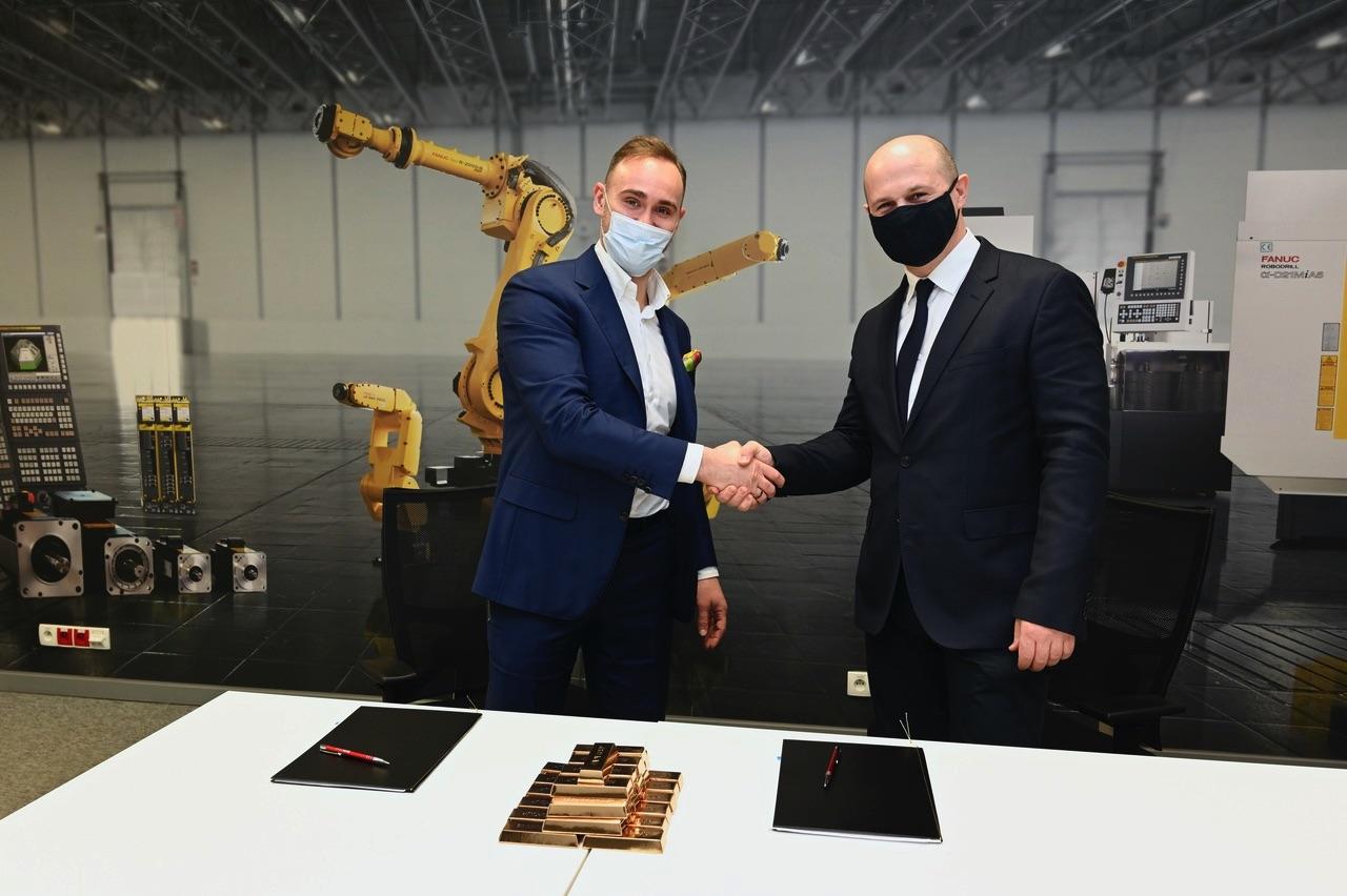 FANUC Polska i APA Group podpisanie deklaracji honorowego patronatu