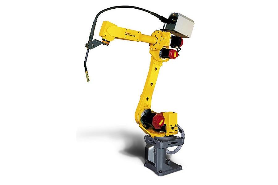 Roboty FANUC do spawania łukowego