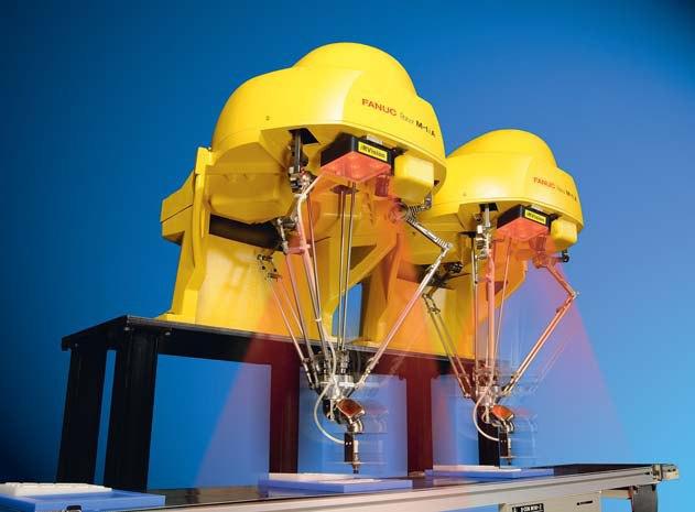 Roboty Delta FANUC GENKOTSU