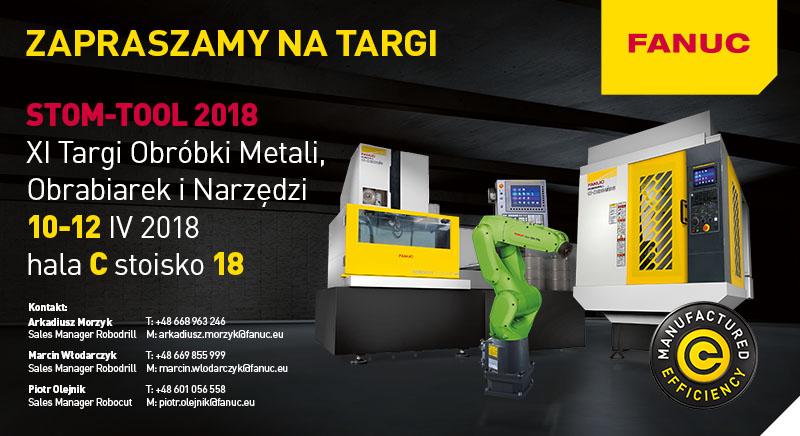 FANUC Polska zaprasza STOM 2018