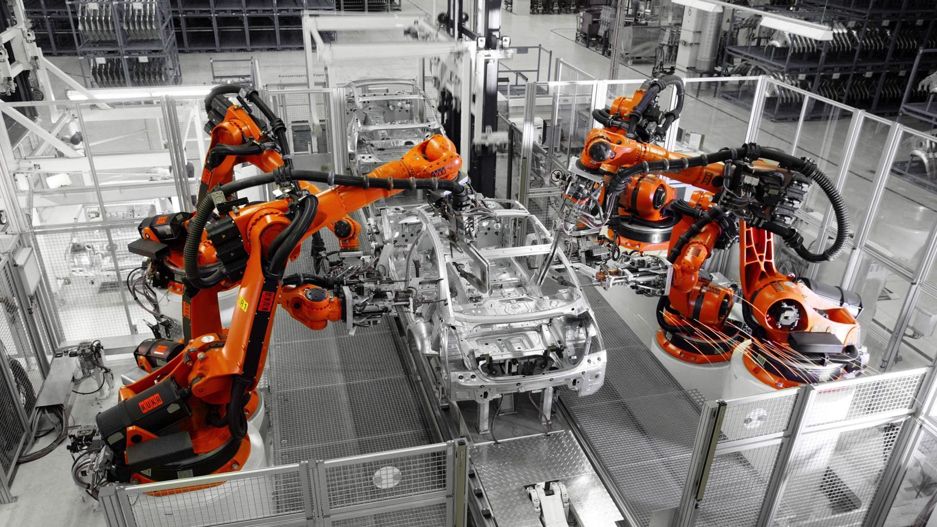 Rozwiązania KUKA siłą napędową automotive