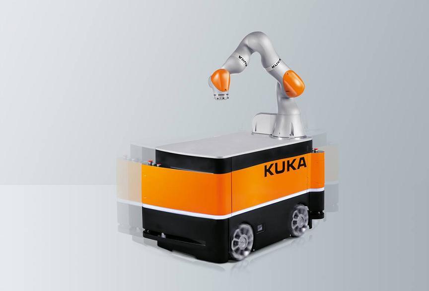 KUKA Mobile Robotik czyli roboty mobilne KMR