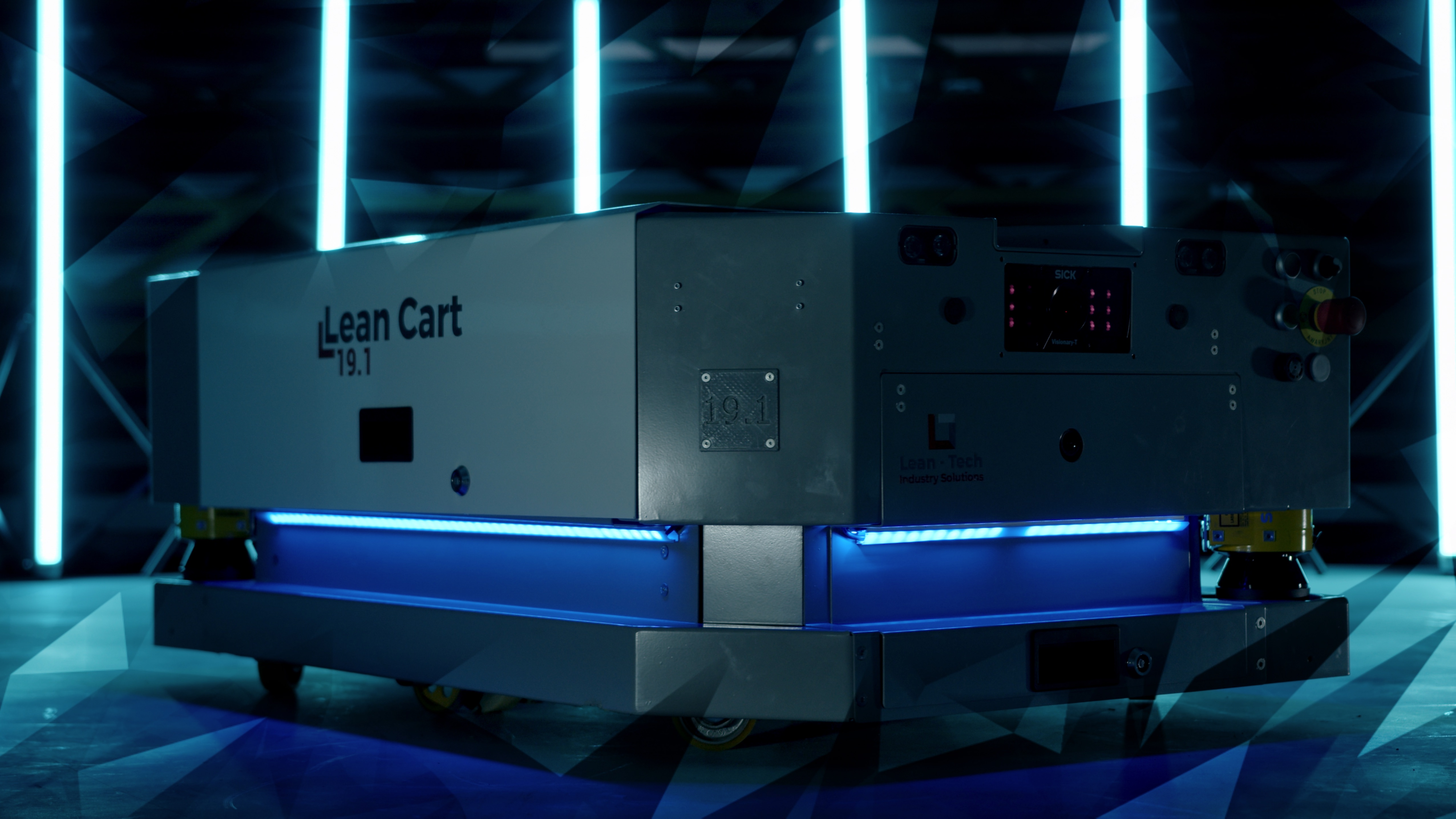 Roboty mobilne AGV Lean Cart