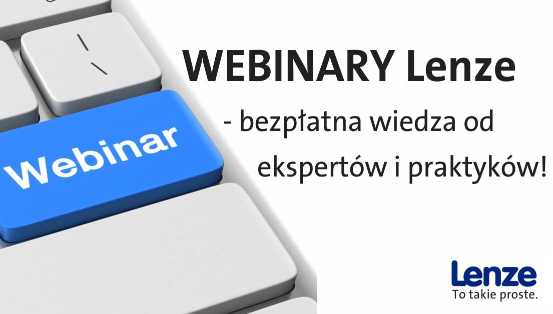 Webinary Lenze Polska - dostępne online