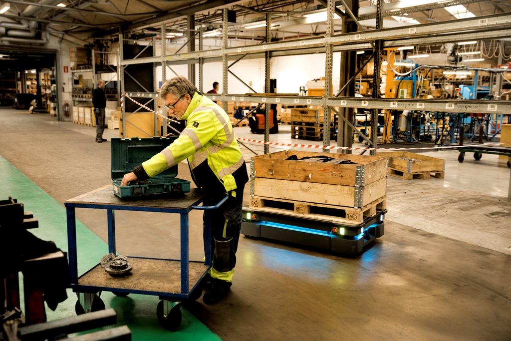 Wzrost robotyzacji w logistyce