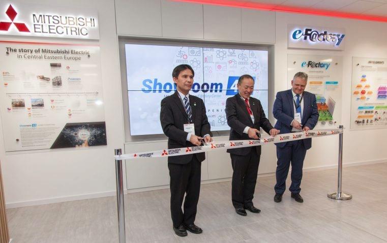 Otwarcie Showroom 4.0 Mitsubishi Electric
