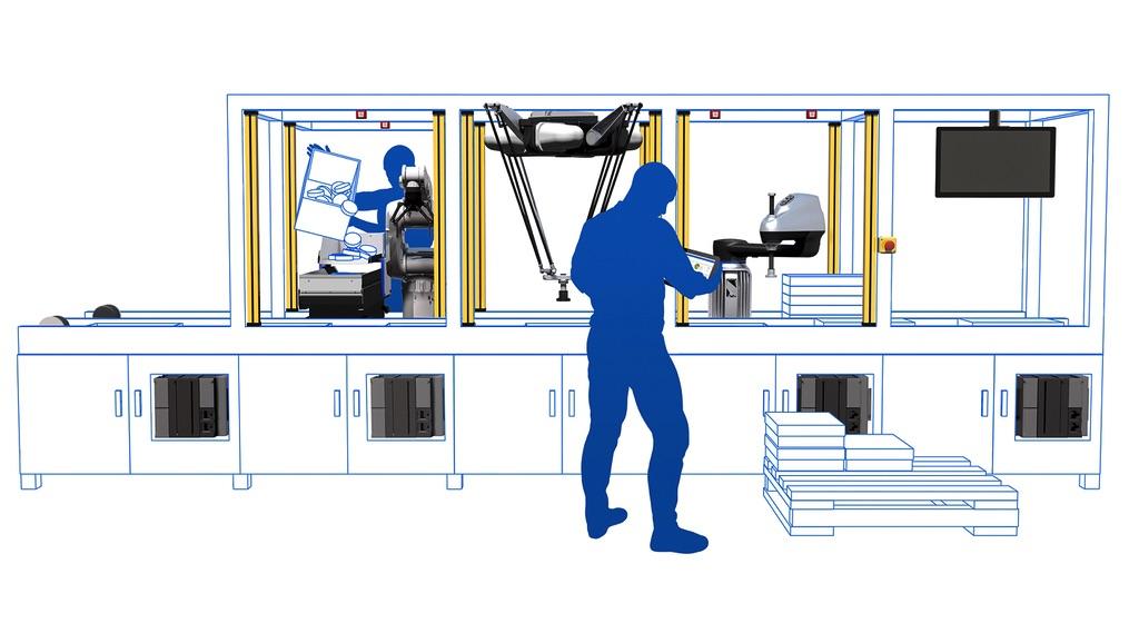 OMRON automatyzacja z użyciem robotów