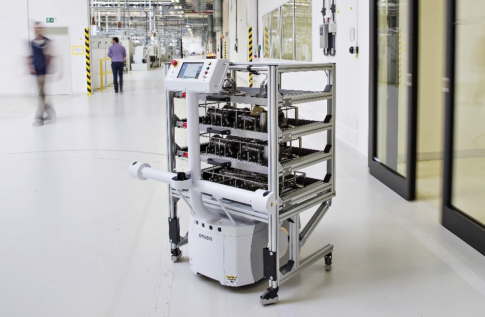 Przemysłowe roboty mobilne - przegląd rynku mobotów