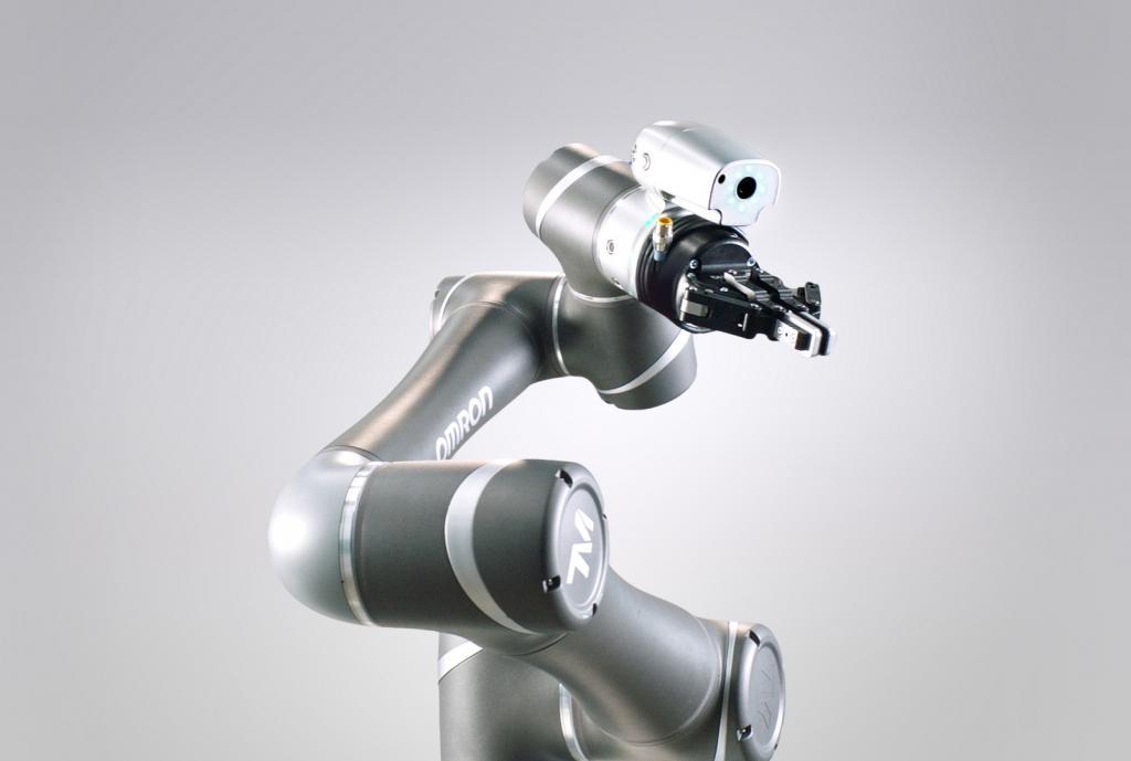 Robot współpracujący Omron z serii TM
