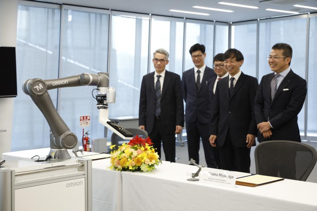 Współpraca Omron oraz Techman Robot