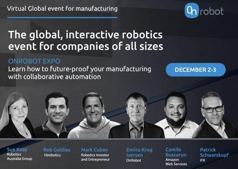 OnRobot Expo 2020 OnRobot