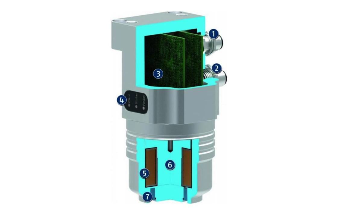 Wydajny energetycznie chwytak magnetyczny EMH - budowa