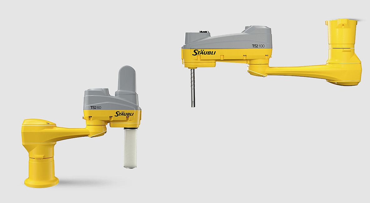 Roboty SCARA Stäubli TS2
