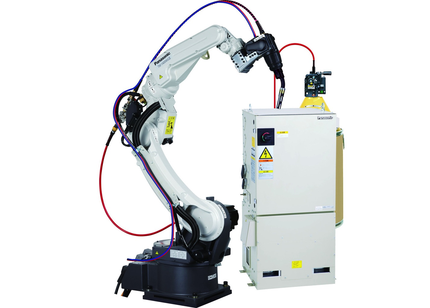 Roboty spawalnicze PANASONIC