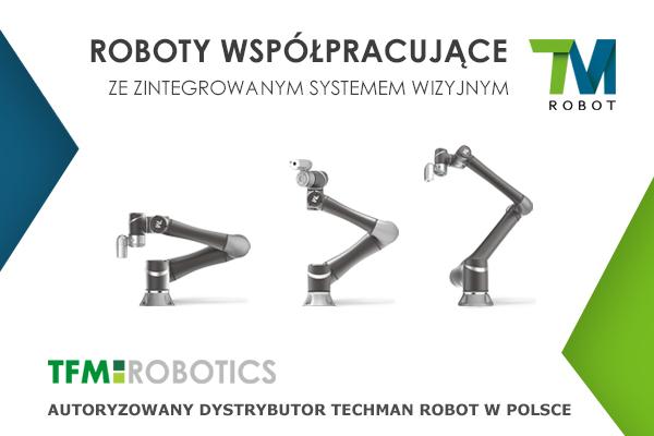 TFM Robotics dystrybutorem Techman Robot
