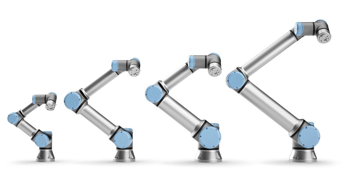 Rodzina e-Series Universal Robots