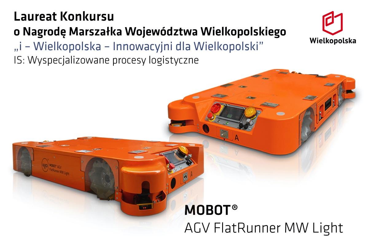 laureat i-Wielkopolska MOBOT FlatRunner MW Light