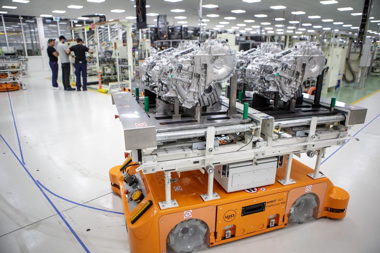 Mobot WObit w Fabryce Toyoty