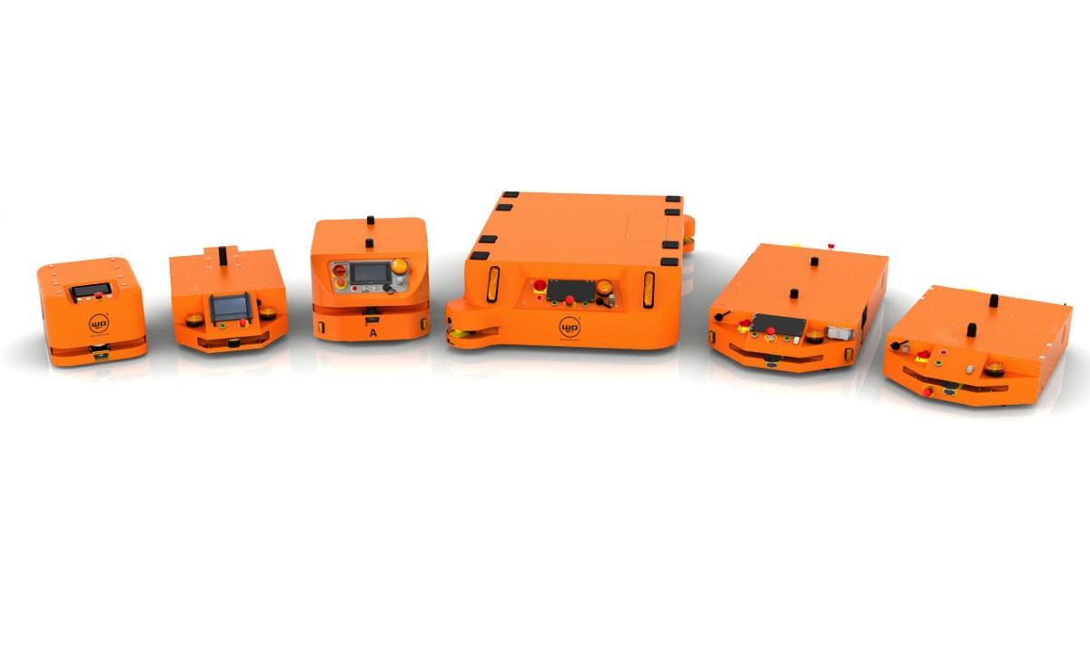 Roboty przemysłowe MOBOT® AGV WObit