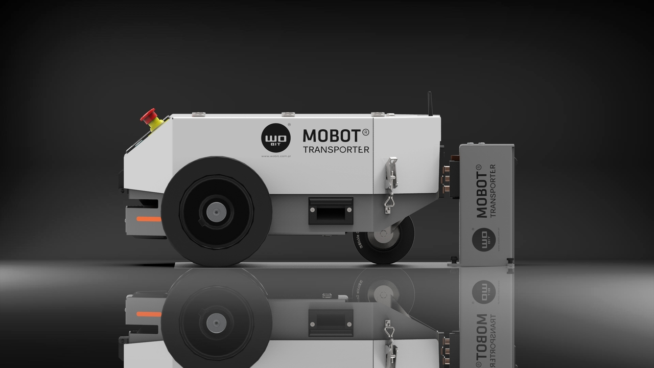 Nowoczesny MOBOT® TRANSPORTER