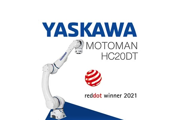 Cobot MOTOMAN HC20DT z nagrodą Red Dot Award