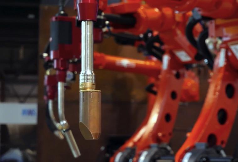 Roboty do spawania