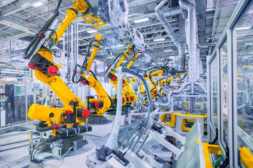 Boom na roboty przemysłowe