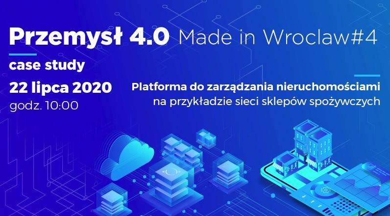 Webinarium Przemysł 4.0 - Made in Wrocław