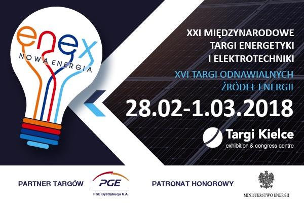 Wszystko o energetyce na ENEX 2018