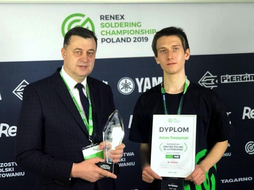 Mistrzostwa Polski w Lutowaniu 2019 młodzieżowy mistrz