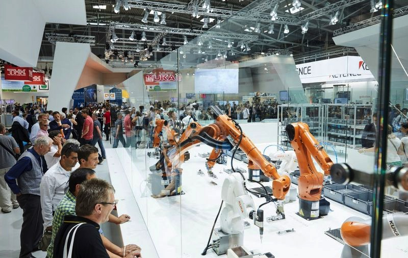 Targi Automatica 2018 roboty