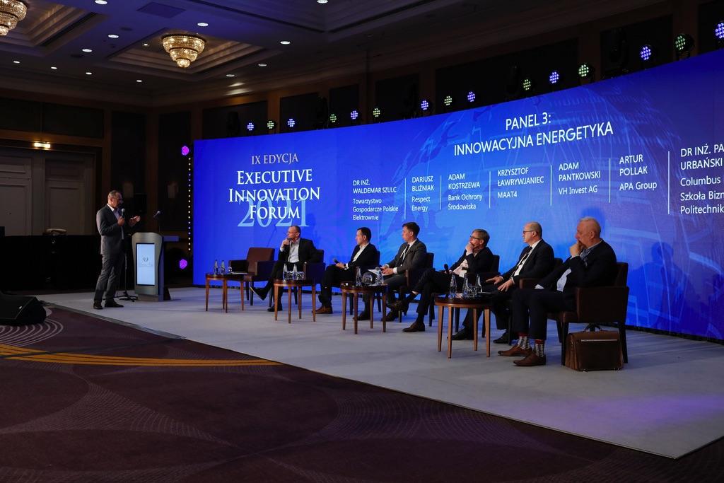 Executive Innovation Forum Executive Club panel dyskusyjny