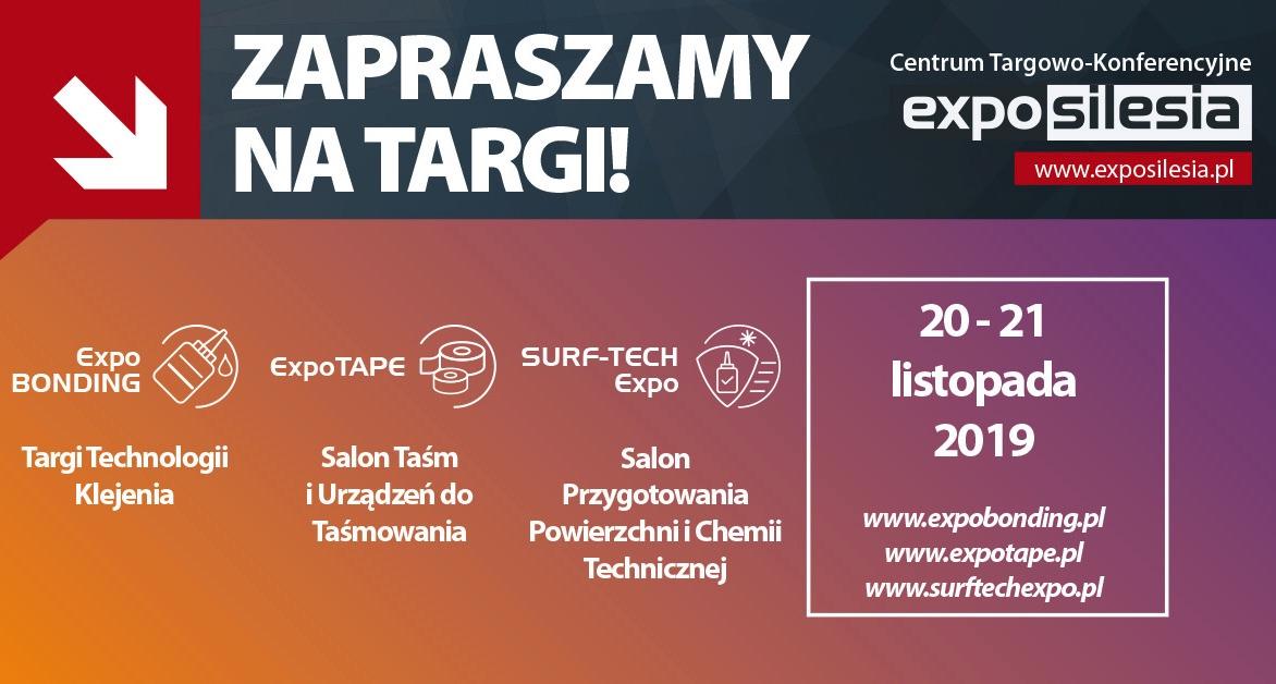 2019 Targi Technologii Klejenia ExpoBONDING