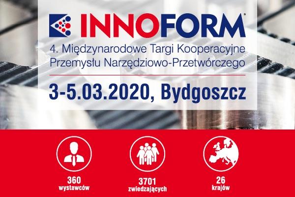Targi INNOFORM 2020 Bydgoszcz