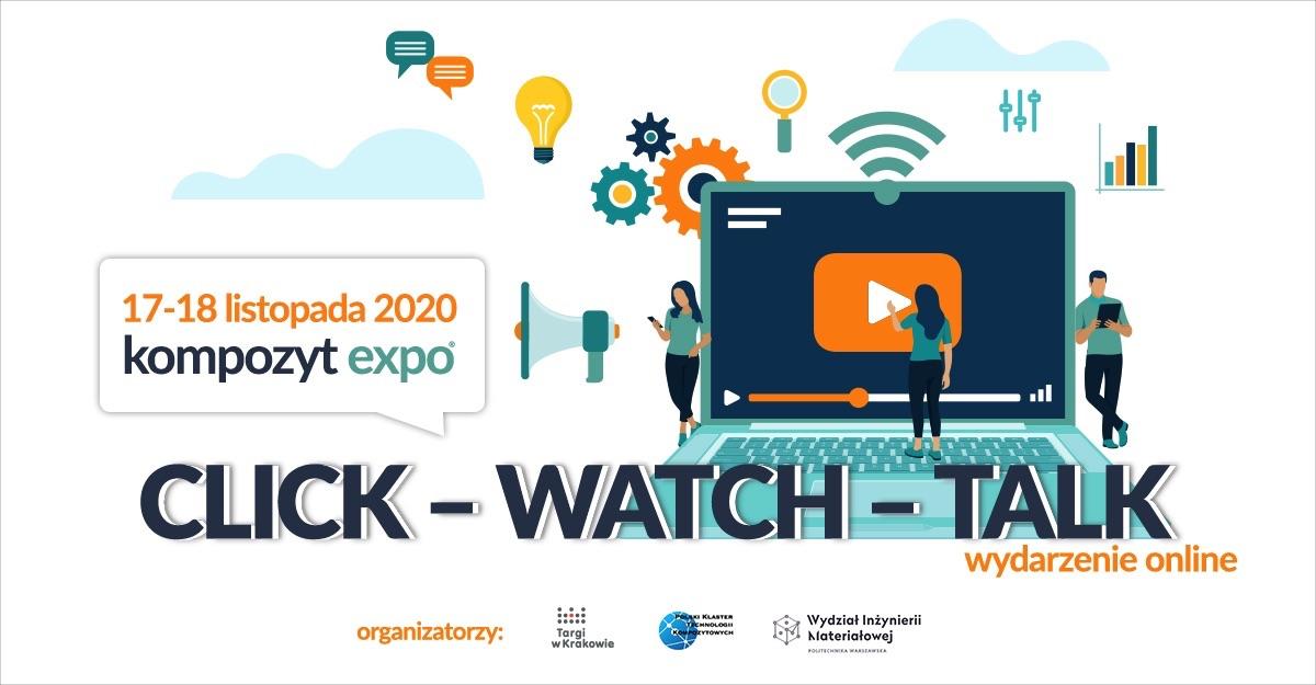 CLICK-WATCH-TALK KOMPOZYT-EXPO® Spotkanie online