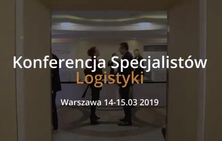 Konferencja Specjalistów Logistyki 2019 Warszawa