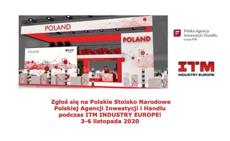 Polskie Stoisko Narodowe na targach ITM Industry Europe