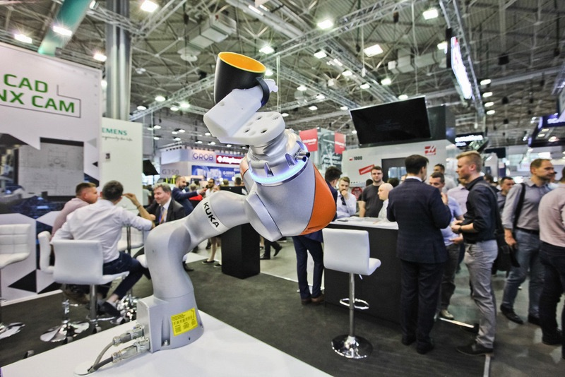 ITM Industry Europe 2019 robot Kuka