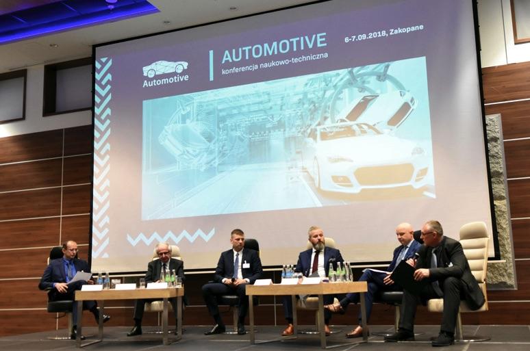 Konferencja Automotive 2018 dyskusja